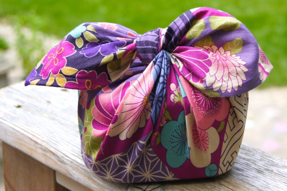 [PROJET] Emballages cadeaux en tissu (Japon)